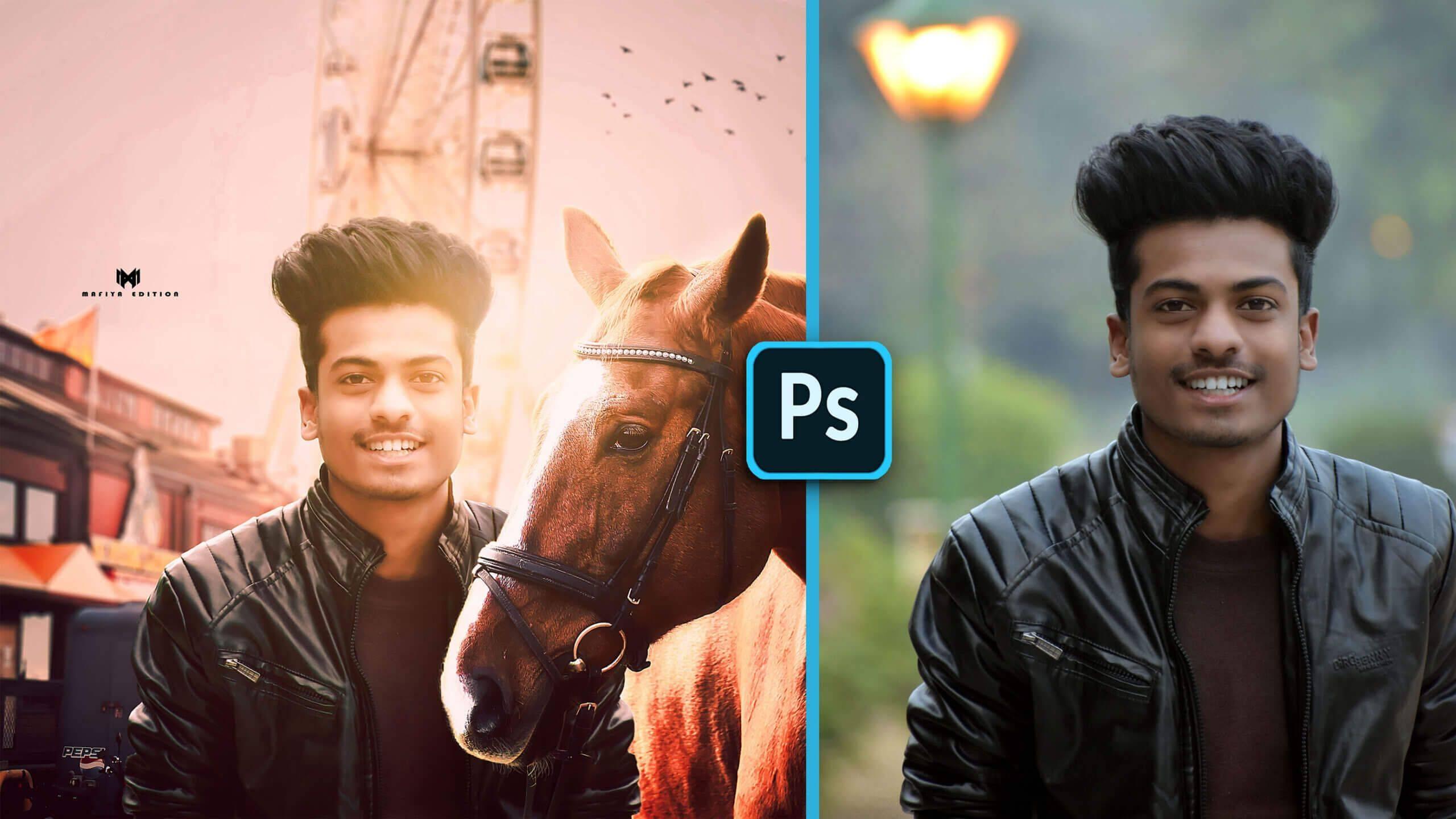 Photoshop Manipulation With Horse